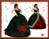 Christmas Gown Green