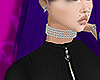 diamond choker girl