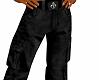 Baggy Cargo Pants Black