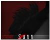 S: Kuro | Shoulder tufts