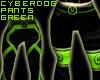 Cyberdog Pants - Green