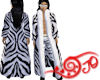 Zebra Fur - White M