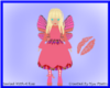 Butterfly Pinky Doll