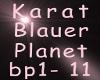 Karat Blauer Planet