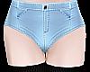 B! Jean Shorts & Socks M