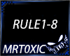 HARDCORE  - THE RULES
