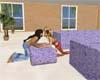 *R4U* Lavender sofa pose