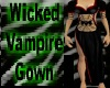 Wicked Vampire Gown