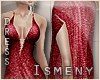 [Is] Sequin Red Dress
