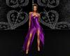 Purple Dancing Dress