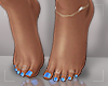 ṩ|Blue Pedicure v2