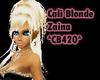 Cali Blonde Zaina