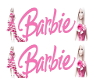 Barbie flag