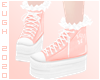 E - Pink Sneakers