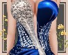 Exclusive blue gown