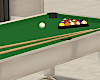 White Pool Table