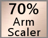 Arm Scaler 70% F A