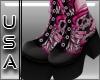 (USA) Rock Boots