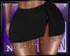 Iuda Black Skirt