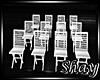-S- White Lawn Chairs