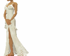 cream off shldr gown