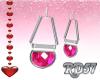 Valentine Pink Earrings