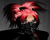 Grunge Red Black