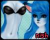 [Nish] Blue Foxeh Fur