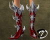 Metal Goth Demon Boots R