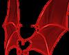 Devil Wings PVC Red