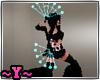 ~Y~Fire FAN Teal Show1+2