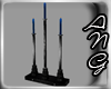 !A! Three Blue Candles