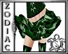 Green Check Skirt