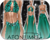 ! 198-1121 Bloom Aqua