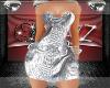 !BAD! Metallic Dress Toc