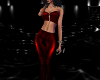 Goth Leather Red Outfit