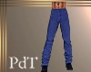 PdT Blue Linen Pants M