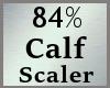 84% Calf Calves Scale MA
