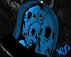 Skull SnapBack W/Trigger