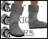 TTT Fur Boots ~ Dark