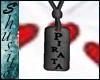 """.Pirata Black.""Necklace"