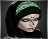 Hijab-Green-Laced