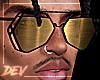 !D Asteri Glasses Gold