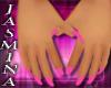 long nails (pink)