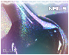 [LL] Holo Nails Black