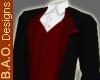 BAO Burgundy Formal Tux
