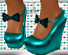 LTR Midy Teal Wedges