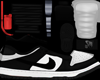 Jordan 1 Low Black White