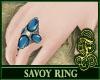 Savoy Ring Blue