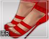 [T] Lyla Heels Red